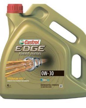 Castrol EDGE Titanium Turbo Diesel 0w30