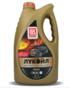 Лукойл Люкс 5W40 синтетика моторные масла