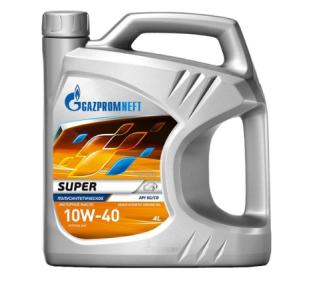 Моторные масла 10 W 40 полусинтетика